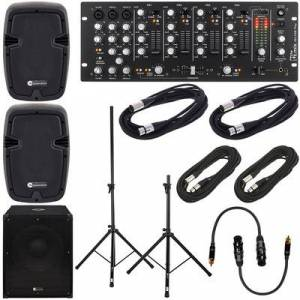 the t.mix 403-USB Play Party Bundle