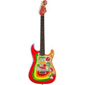 "Fender George Harrison """"Rocky"""" MBPW Sonic Blue with Custom Rocky graphics"