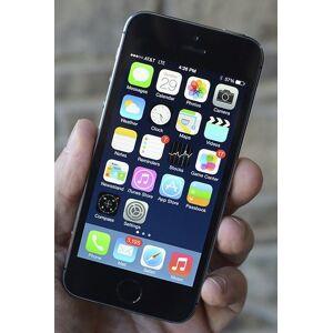 """Apple iPhone SE 32GB Rymdgrå (2018) med 4""""-skärm (beg) ( Klass A )"""