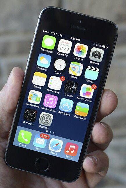 Apple iPhone 5S 16GB SpaceGrey (beg) ( Klass C )