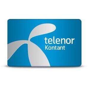 False Telenor kontantkort startpaket