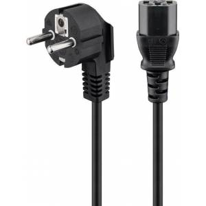 Deltaco Vinklad strömkabel till stationär dator