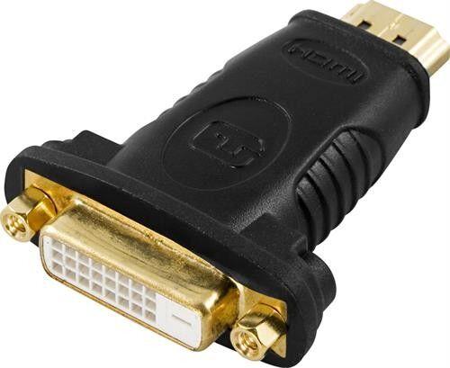 Deltaco HDMI till DVI-adapter