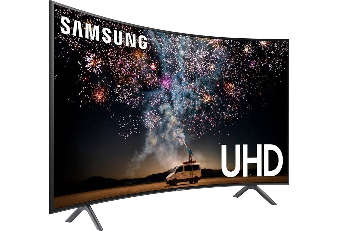 Samsung 55-tums Curved UHD 4K Smart-TV