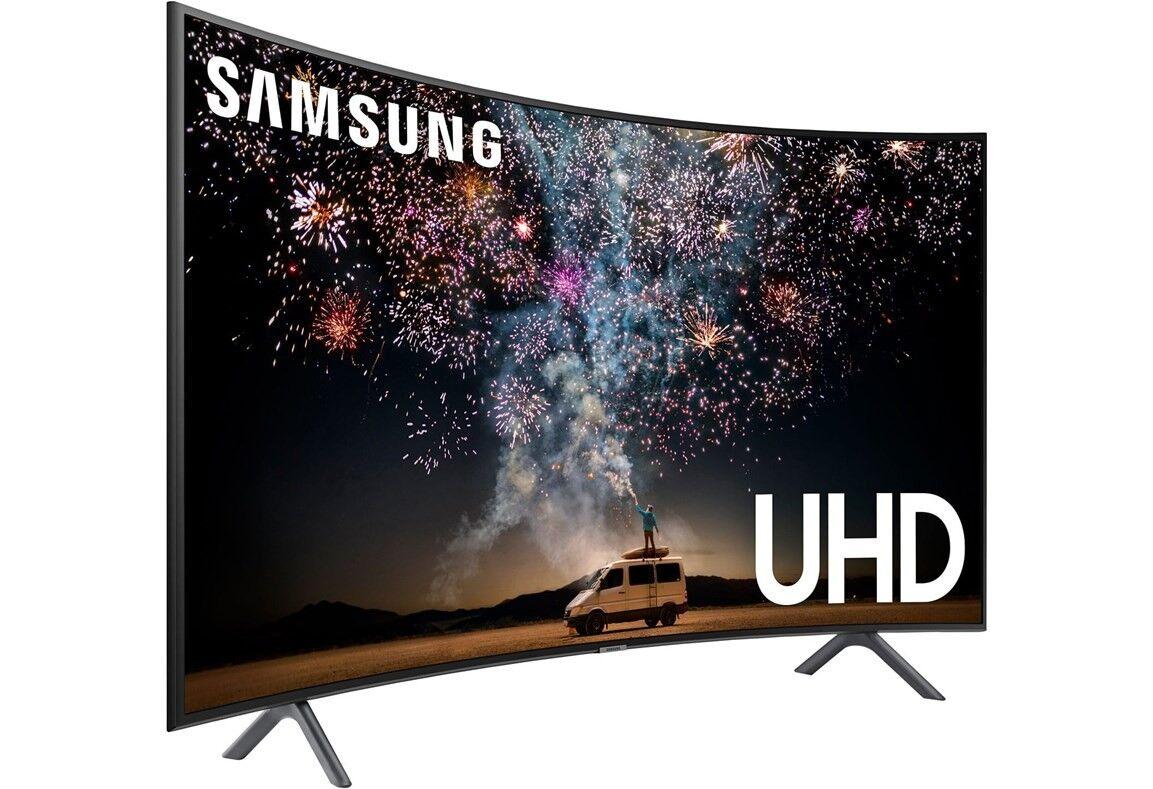 Samsung 55-tums Curved UHD 4K Smart-TV