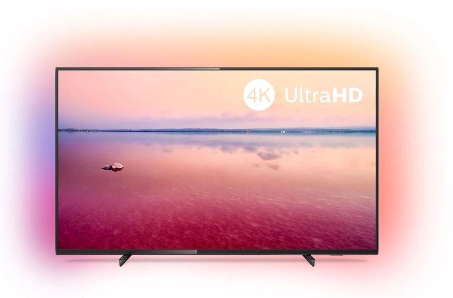 Philips 65-tums 4K UHD-TV med 3-sidig Ambilight