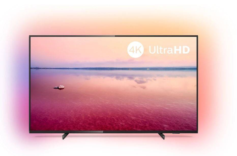 Philips 50-tums 4K UHD-TV med 3-sidig Ambilight