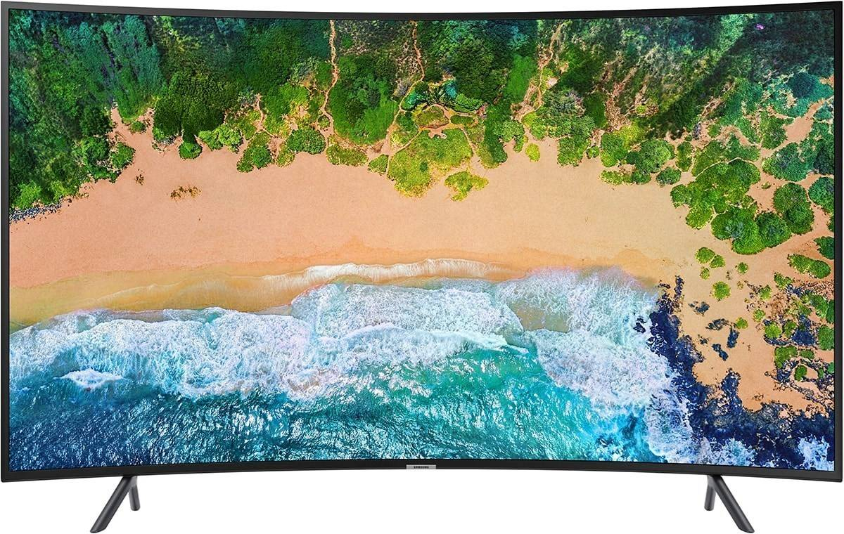 Samsung 49-tums Curved Smart UHD-TV 4K