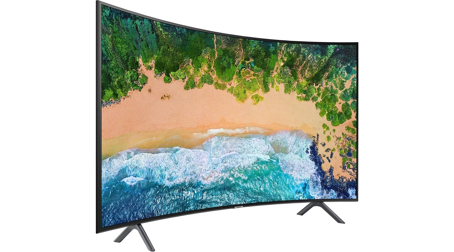 Samsung Curved 65-tums 4K UHD-TV