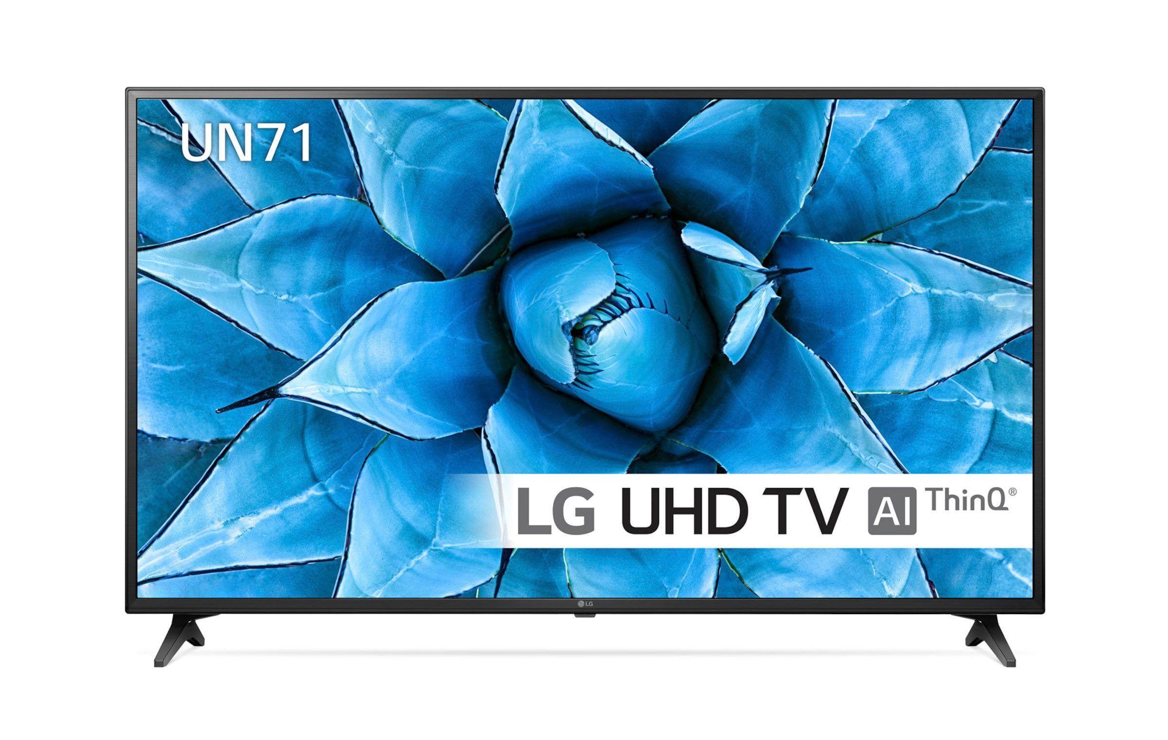 LG 55-tums UHD 4K Smart-TV med WiFi