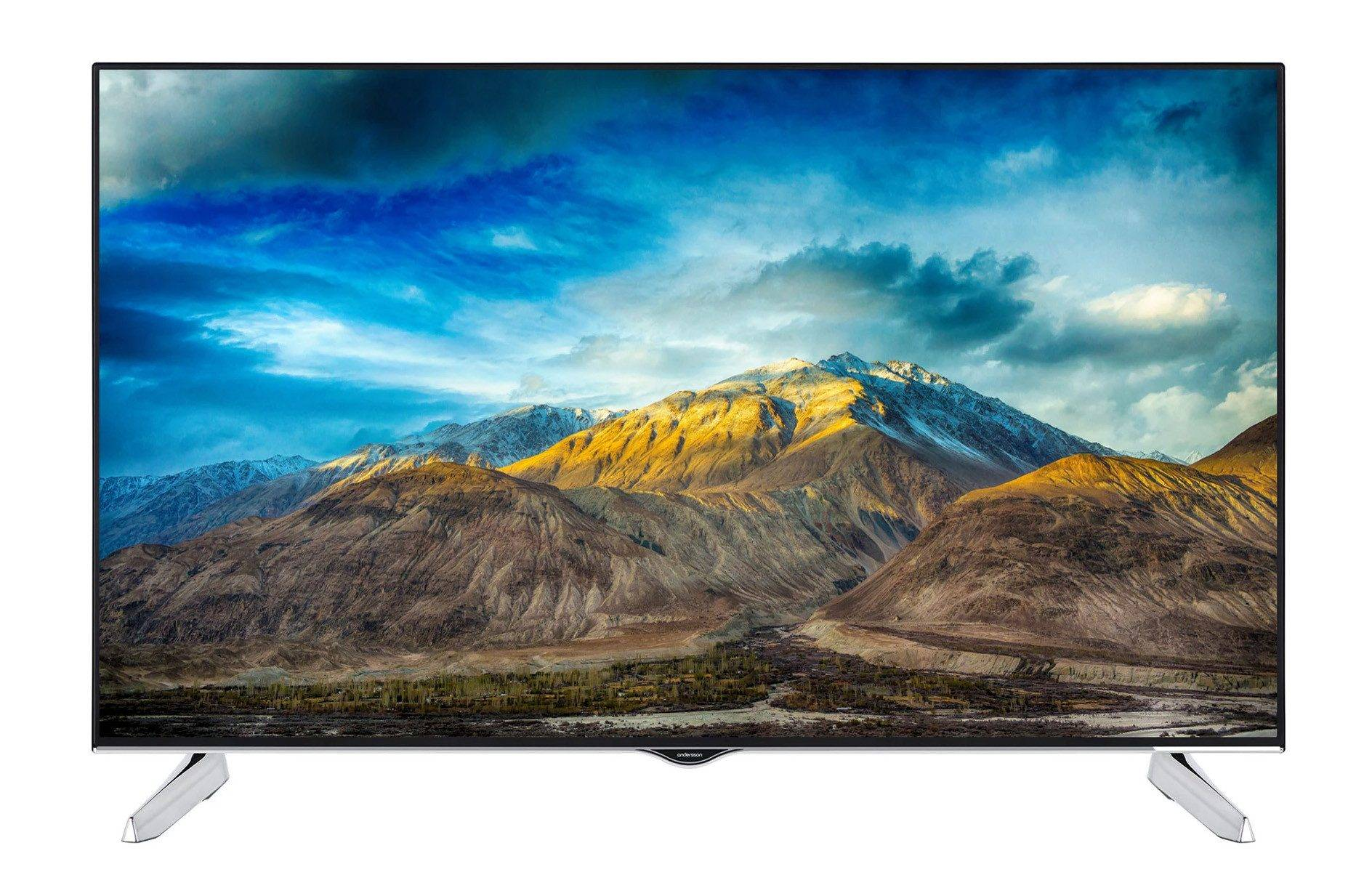 Andersson 50-tums UHD 4K Smart-TV med Wi-Fi