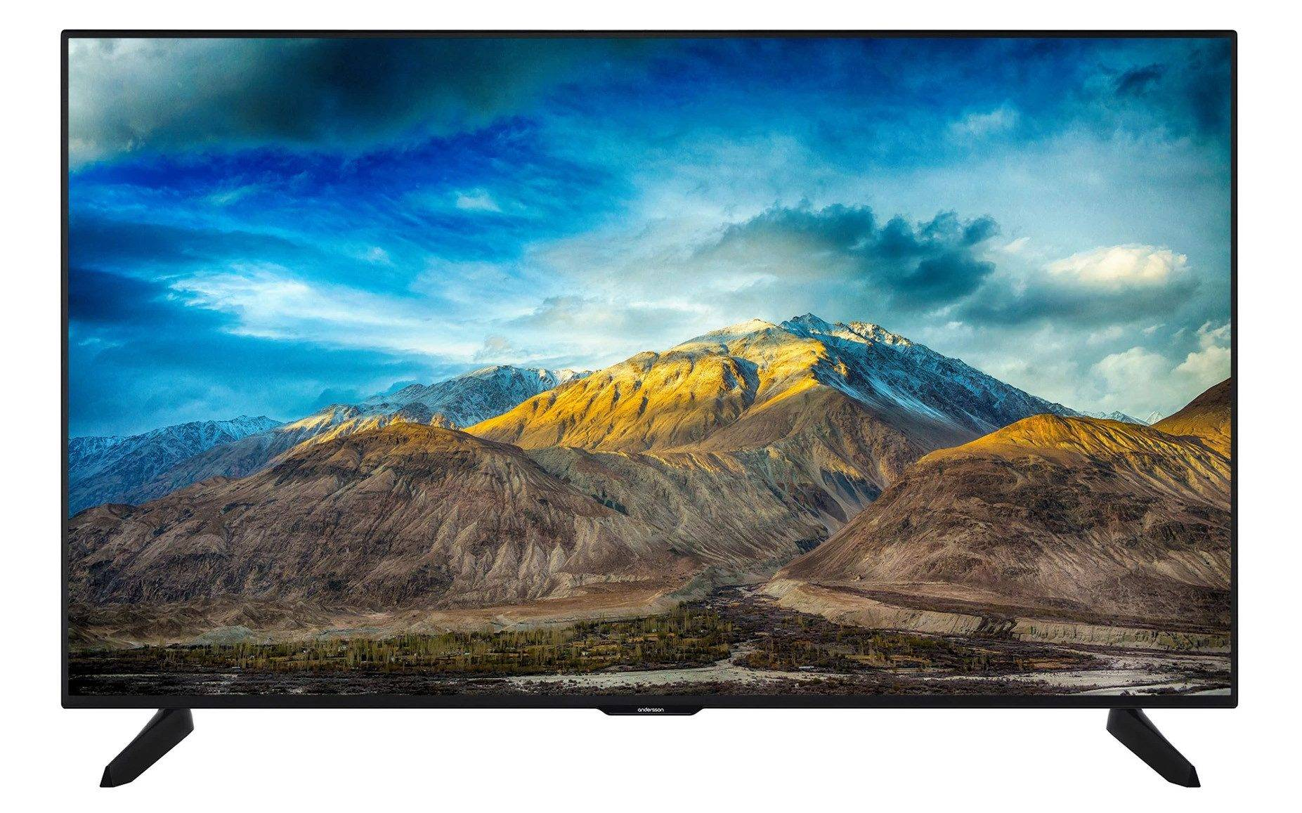 Andersson 55-tums UHD 4K Smart-TV med Wi-Fi