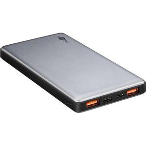 Goobay PowerBank portabelt batteri på 10.000mAh 3A QC3.0
