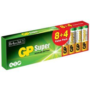 Andersson GP Super Alkaline AA 8+4-pack AA-batterier