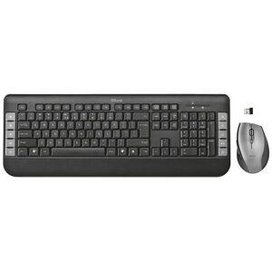 Trust trådlöst tangentbord och mus