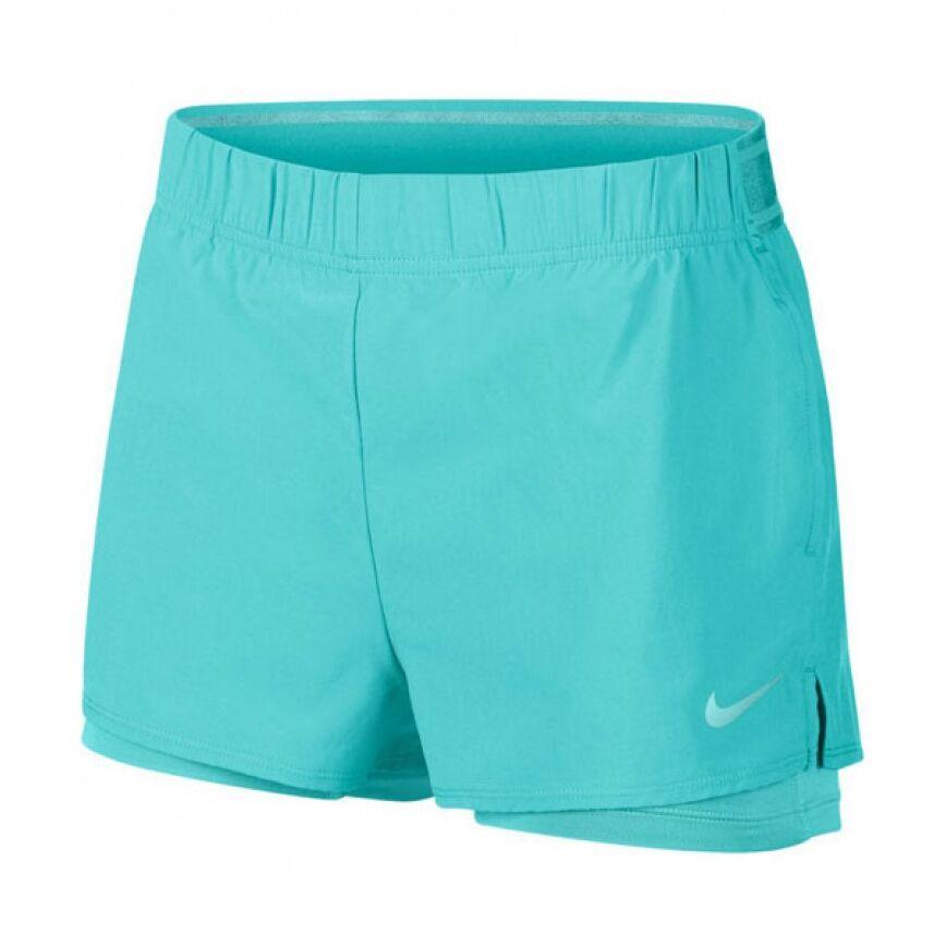 Nike Court Flex Shorts Women Light Aqua L