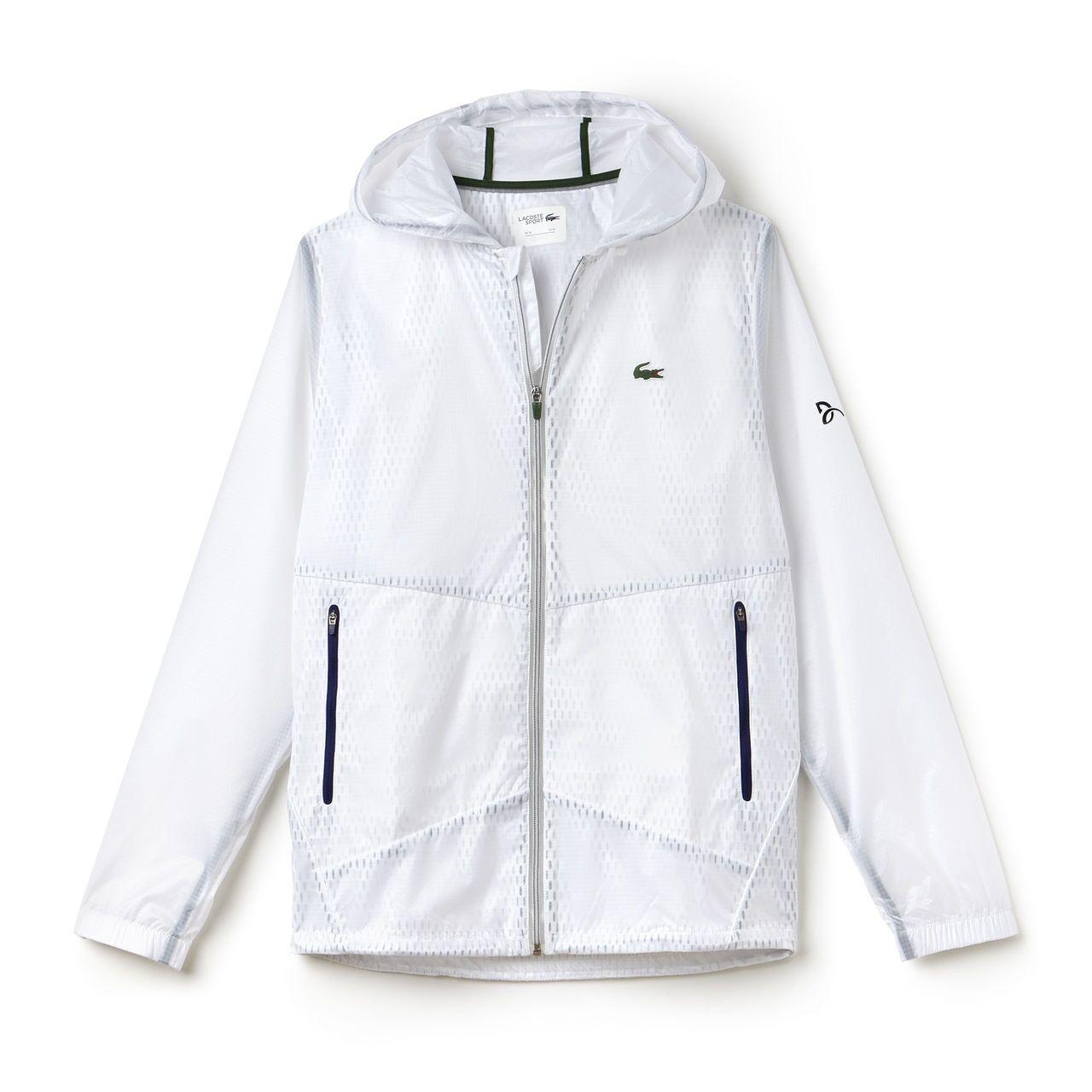 Lacoste Novak Djokovic Jacket Exclusive Edition White S