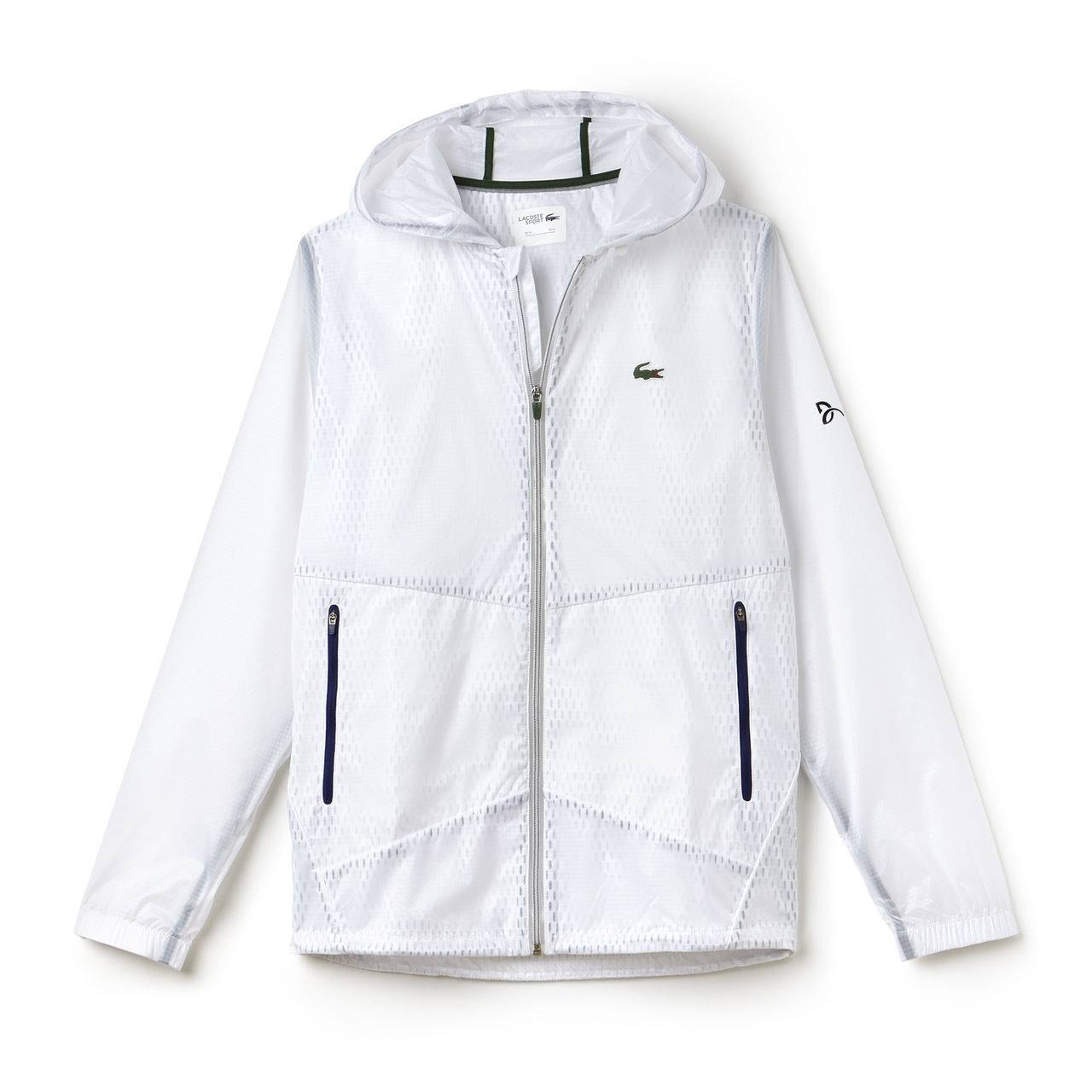 Lacoste Novak Djokovic Jacket Exclusive Edition White L