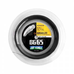 Yonex BG 65 Black Reel 200m