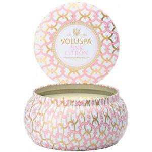 Voluspa 2 Wick Metallo Candle Pink Citron