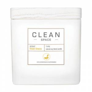 Clean Space Fresh Linens Candle (227ml)
