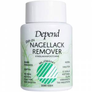 Depend Dip-in Remover Environmentally Adapted (75ml)