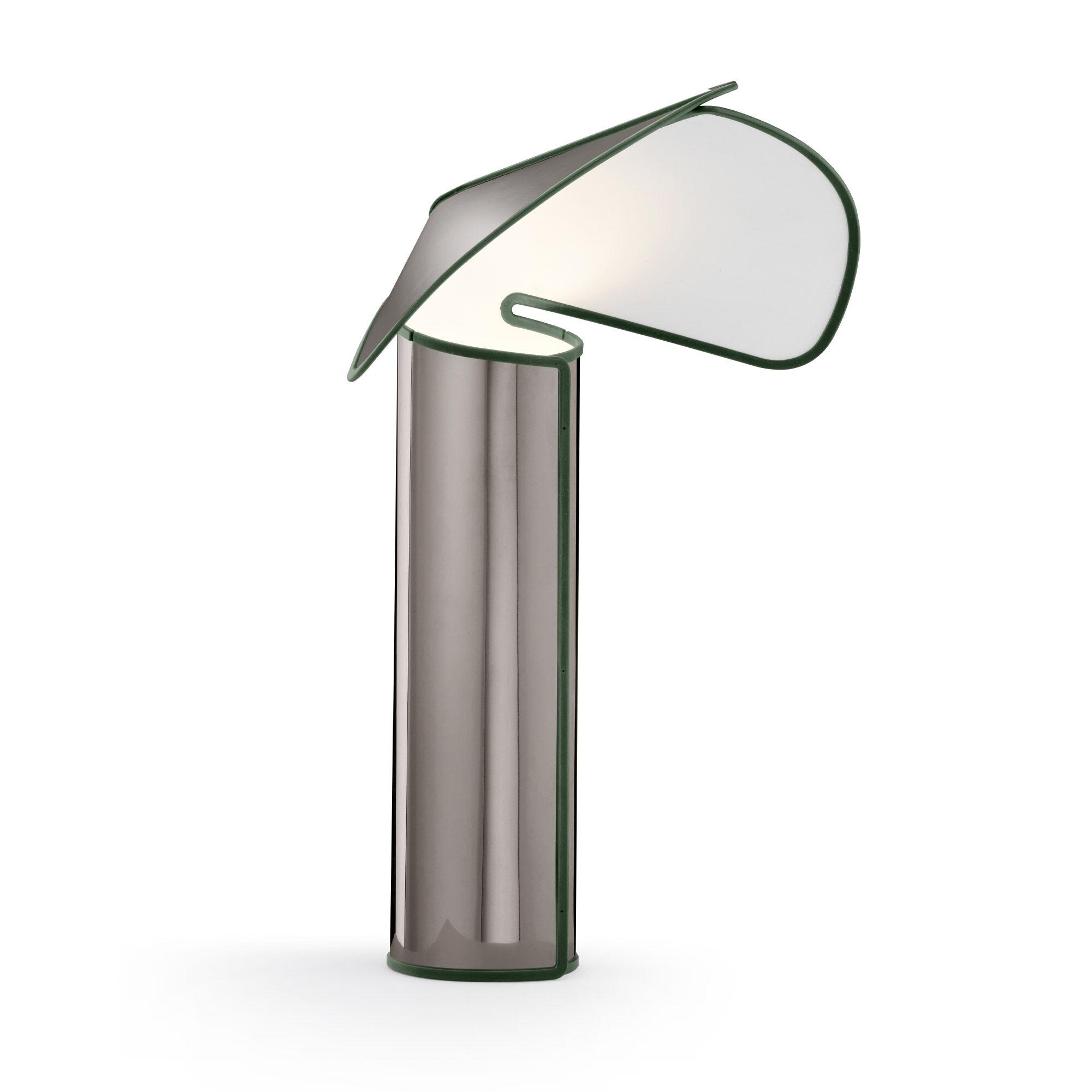 Flos Chiara Table Lamp Dark Grey / Olive Green