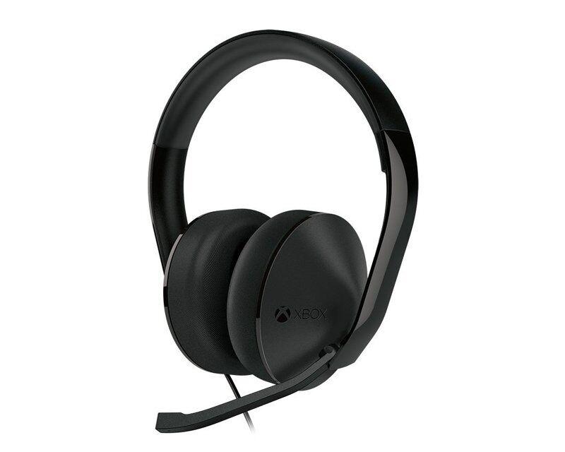 Microsoft Xbox One Stereo Headset Svart (Bulk)