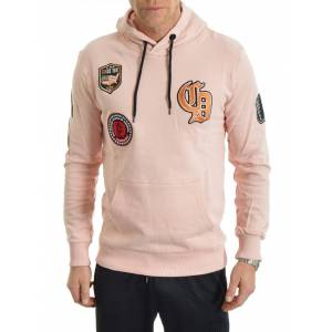Criminal Damage Shield Hood Pink L