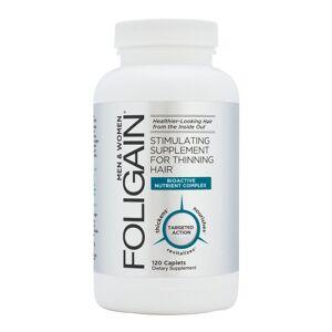 Foligain Thinning Hair Supplement 120 hår tabletter för 2 månaders förbrukning - Stimulerande Hårformula för Män & Kvinnor