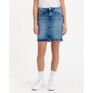 Tommy Jeans Classic Denim Sukňa Modrá 30