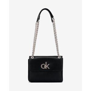 Calvin Klein Re-Lock Kabelka Čierna UNI