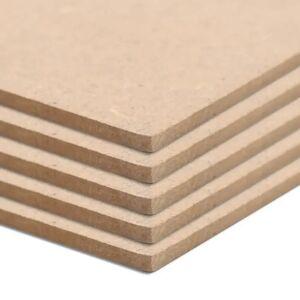 vidaXL Drevotrieskové dosky 10 ks štvorcové 120x60 cm 2,5 mm