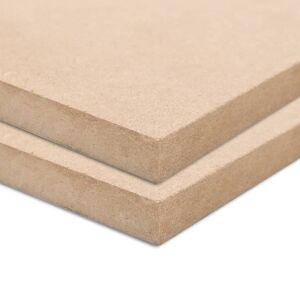 vidaXL Drevovláknité dosky 2 ks 120x60 cm 12 mm obdĺžnikové