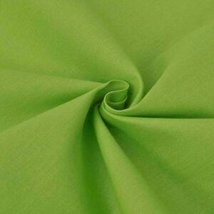 vidaXL Bavlnená látka, 1.45x20 m, zelená