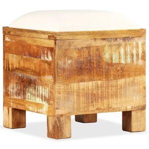 vidaXL Úložná lavica, masívne recyklované drevo, 40x40x45 cm
