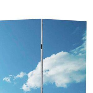 vidaXL Skladací paraván 200x170 cm potlač pláže