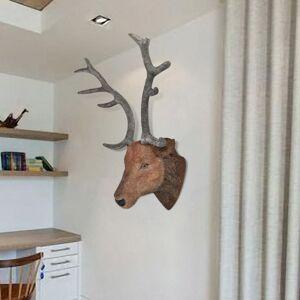 vidaXL Nástenná dekorácia, jelenia hlava s realistickým vzhľadom