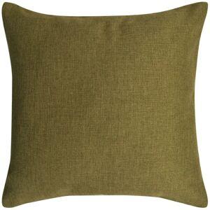 vidaXL Návliečky na vankúše, 4 ks, plátnový vzhľad, zelené, 80x80 cm