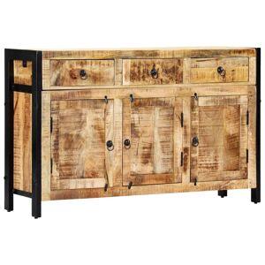 vidaXL Komoda 120x35x76 cm masívne mangovníkové drevo