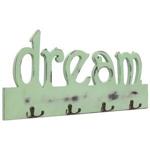 vidaXL Nástenný vešiak DREAM 50x23 cm