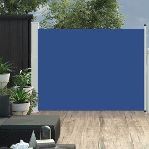 vidaXL Zaťahovacia bočná markíza na terasu 170x500 cm, modrá