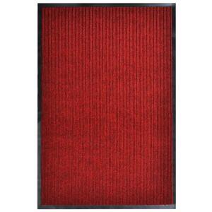 vidaXL Rohož pred dvere červená 160x220 cm PVC