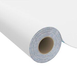 vidaXL Samolepiacia fólia na nábytok biela 500x90 cm PVC
