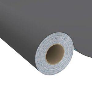 vidaXL Samolepiacia fólia na nábytok sivá 500x90 cm PVC
