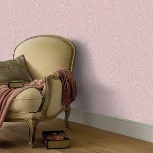 vidaXL Netkané tapetové rolky 4 ks, jednofarebné, ružové 0,53x10 m