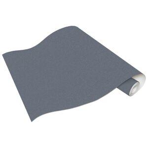 vidaXL Netkané tapetové rolky 4 ks, jednofarebné, tmavosivé 0,53x10 m