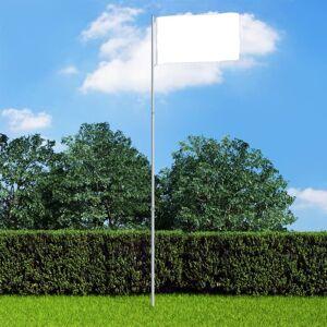 vidaXL Teleskopický vlajkový stožiar 4 m hliníkový