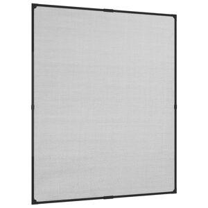 vidaXL Magnetická okenná sieťka proti hmyzu antracitová 100x120 cm sklolaminát