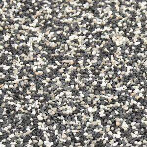 vidaXL Vložka s dizajnom kameňa sivá 500x40 cm
